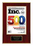 2008-XCEL Solutions Corp Selected For 500 Fastest-Growing Private Companies