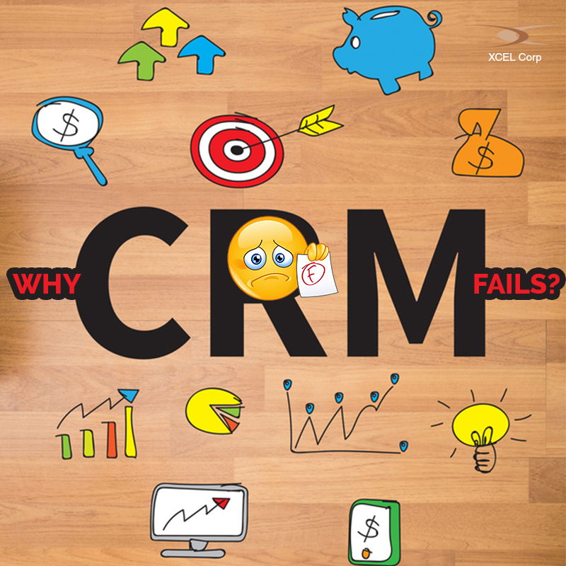 More than half of all CRM implementations fail. Find out why here. Jit Goel, XCEL Corp Jit Goel