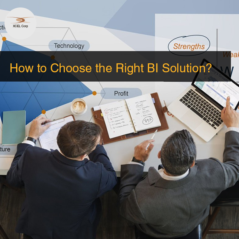Points to look for when buying a BI Solution, Jit Goel, XCEL Corp Jit Goel
