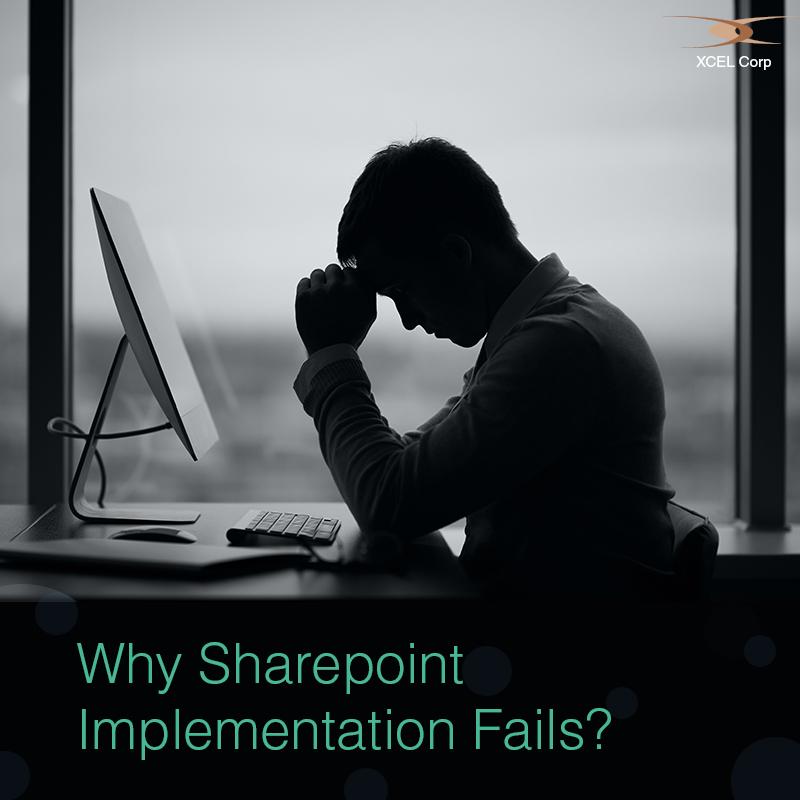 What makes sharepoint implementations fail?, Jit Goel, XCEL Corp Jit Goel