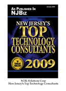 2009-XCEL Solutions Corp Selected For New Jersey's Top Technology Consultants