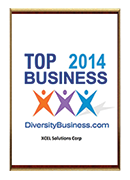 2014-XCEL Solutions Corp. Selected For TOP Diversity Owned Business in NJ