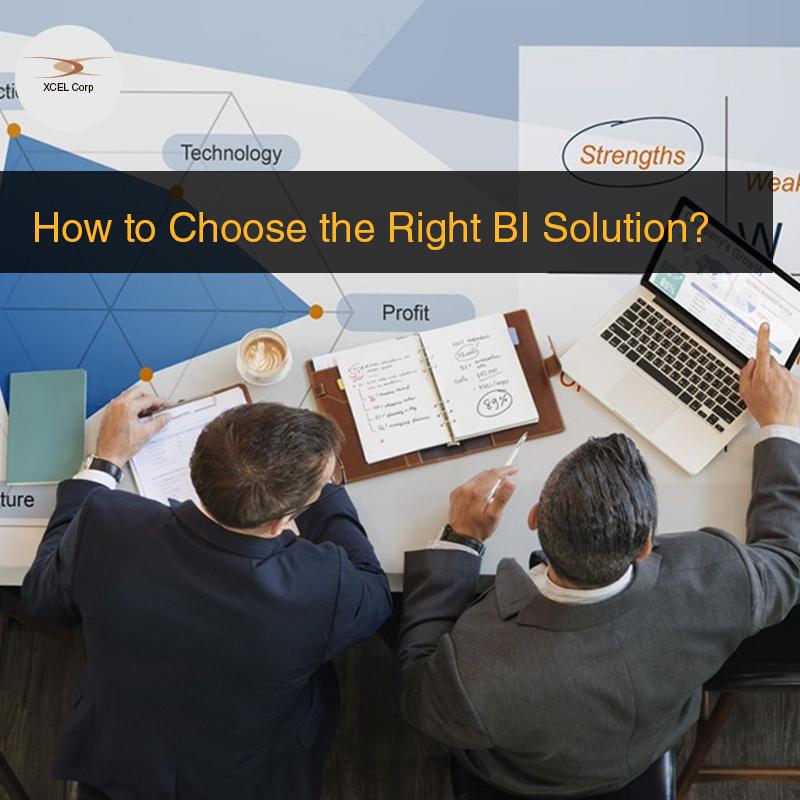 Points to look for when buying a BI Solution, Jit Goel, XCEL Corp Jit Goel