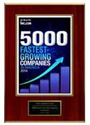 2014 – XCEL Corp is one among 5000 Fastest Growing Companies in America