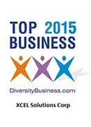 2015 XCEL Corp Awarded 'TOP 2015 Business' by Diversity Business